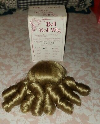 Style Bell Ceramics Doll Wig PRECIOUS /& Rosa Blonde Size 5-6 New In Box