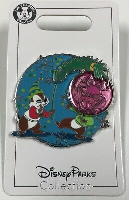 2019 Brand New Disney Parks Christmas Chip and Dale Holiday Disney Pin