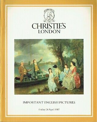 Christies April 1987 Important English Pictures