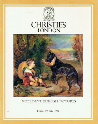 Christies July 1985 Important English Pictures