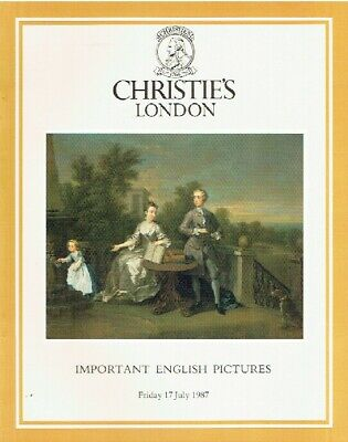 Christies July 1987 Important English Pictures