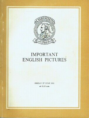 Christies June 1980 Important English Pictures