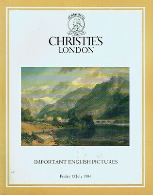 Christies July 1984 Important English Pictures