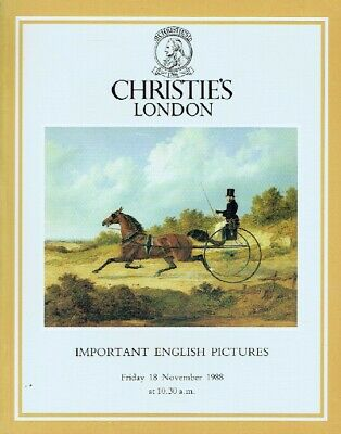 Christies November 1998 Important English Pictures
