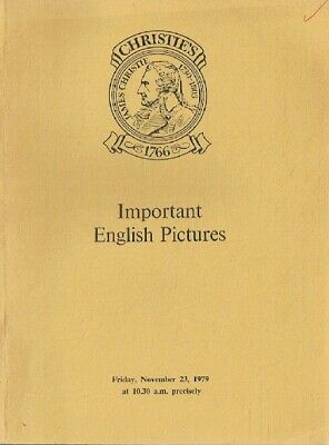 Christies November 1979 Important English Pictures