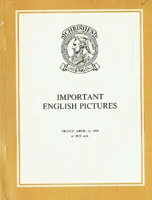Christies April 1980 Important English Pictures