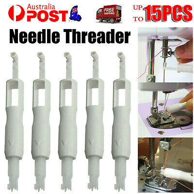 Up10 Needle Threader Insertion Cordless Sewing Machine Stitch Clothes Applicator