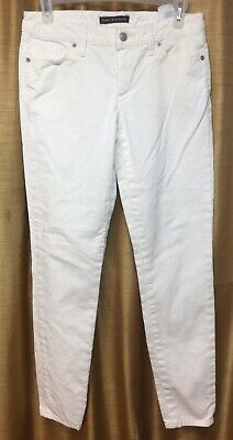 Tommy Hilfiger Women's Skinny Off White Cords Pants Size 0
