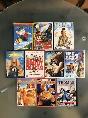 Selection of FAMILY DVDs. - mainly animated. Bundle of 10.