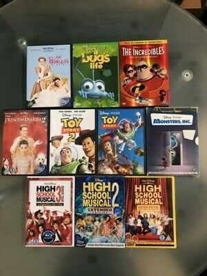 Selection of FAMILY DVDs. Bundle of 10.