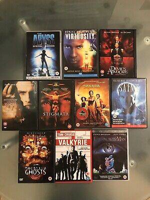 Selection of ACTION / SUPERNATURAL movies on DVD. Bundle of 10.