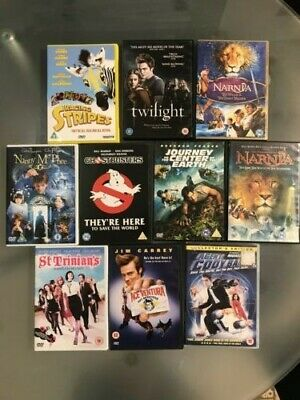 Selection of FAMILY ENTERTAINMENT movies on DVD. Bundle of 10.
