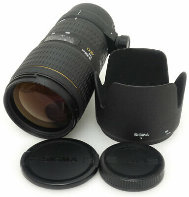 Sigma 70-200mm F2.8 APO EX HSM Lens. Hood For Canon