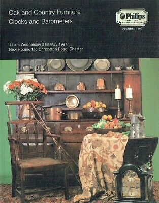 Phillips May 1997 Oak & Country Furniture, Clocks and Barometers