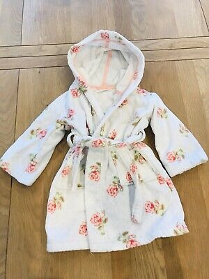 The little white company Girls Dressing Gown - 2-3 Year's