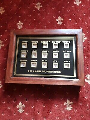 Servants or Butlers 15 way  bell box