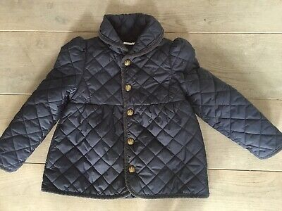 Girls Ralph Lauren Quilted Jacket Age 3-4 Years (Size 4/4T)