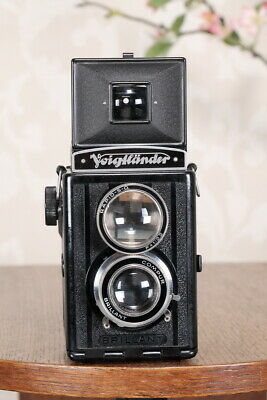 1938 Voigtlander Brillant 6x6 TLR, CLA'd, Freshly Serviced!