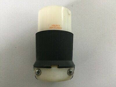 Hubbell Hbl2413 20 Amp 250 Volt 4 Wire Twist Lock Receptacle
