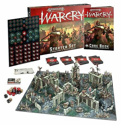 NEW IN BOX Warhammer Age Of Sigmar Warcry Starter Set!