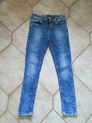 Next Boys Blue Skinny Jeans - Age 13 Years