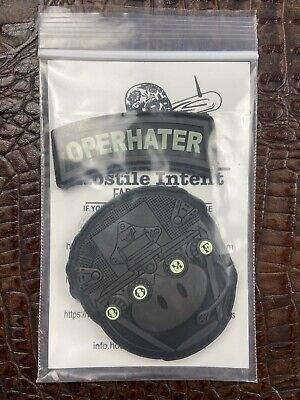 The Hate Project Operhater 2 Piece Morale Patch Set