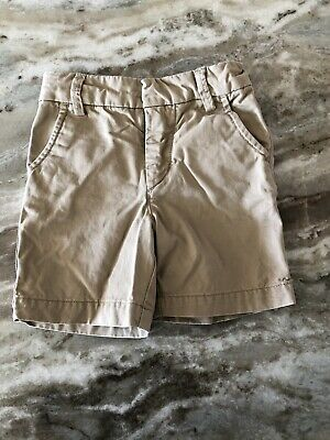 Baby Gap Toddler Boys Khaki Shorts Adjustable Waist Size 18-24 Months