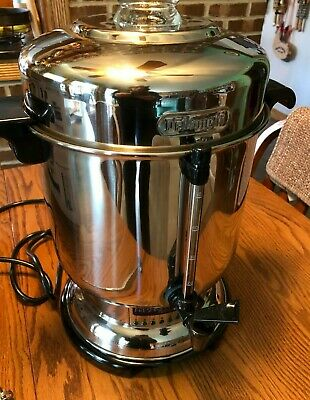 DELONGHI  DCU50T  20-50 CUP Commercial Coffee Maker Urn Used