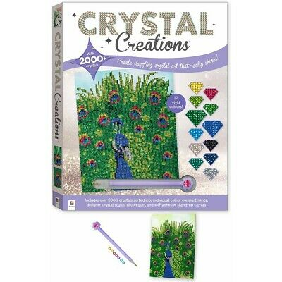 Crystal Creations Proud Peacock