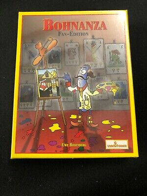 Bohnanza Fan Edition! Bean Farming Card Game Look Out Games German New Sealed E3
