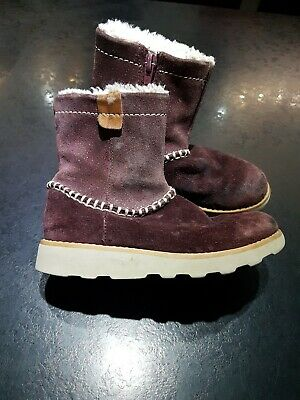 girls infant clarks boots size 9.5f