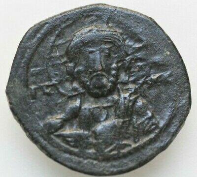 Constantine X, class E anonymous follis 7.04gr;27mm , 1059-1067 AD. IC-XC to