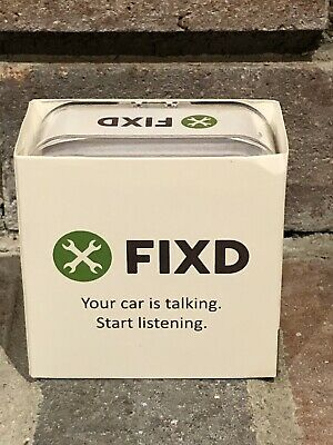 New FIXD OBD-II 2nd Generation Active Car Health Monitor FAST FREE Shipping