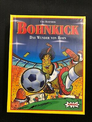 Bohnanza Bohnkick Card Game Amigo Rosenberg New Factory Sealed E6
