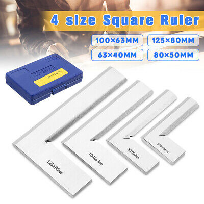 Machinist Edge Square Ruler 90°Right Angle Ruler Engineer Measuring Tool