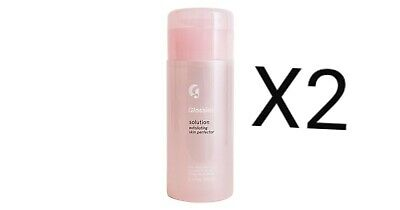 2x Glossier Solution Exfoliating Skin Perfector 130 ml Genuine 100% & NEW