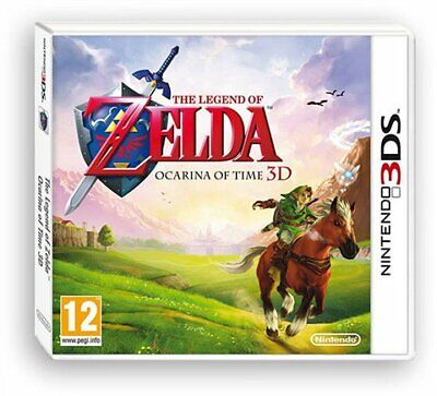 Juego 3Ds The Legend Of Zelda Ocarina Of Time Selects 3Ds 5464231