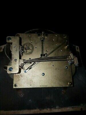 Vintage French Westminster Chime  Bracket Clock Movement  Restoration