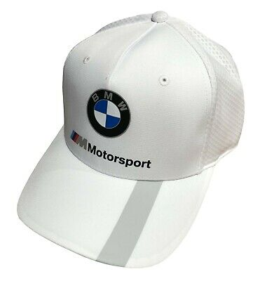 PUMA BMW Motorsport snap Back Cap- Anthracite and White