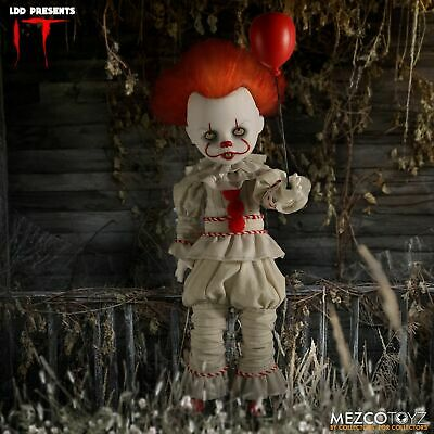 NEW! Mezco Toyz Living Dead Dolls LDD Presents IT 2017: Pennywise