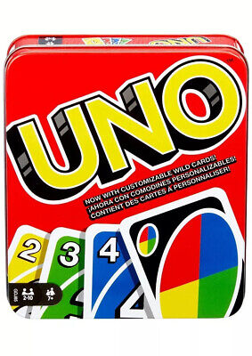 Mattel Games UNO: Classic (Tin Box) [EXCLUSIVE] with 112 Cards