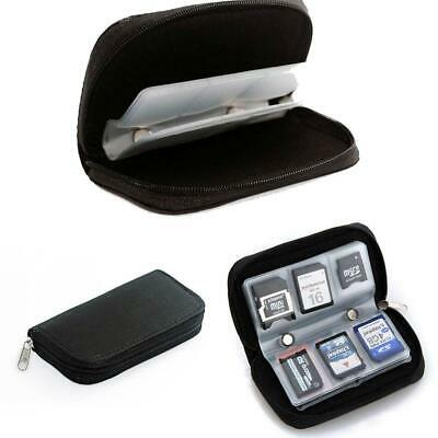 Memory Card Storage Carrying Pouch Case Holder For CF/SD/SDHC/MS/DS s2zl
