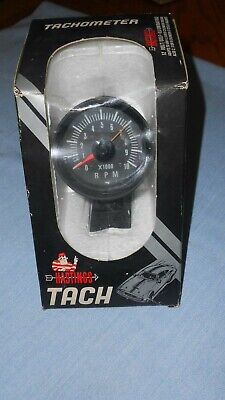 """NICE Vintage Automobile Hastings 10000 RPM Tachometer 2.5"""" In Box. RARE"""