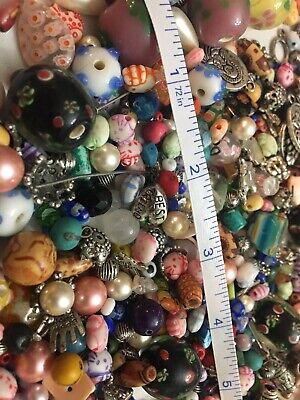 1//4 Pound Czech Pressed Glass 8x6mm Rondelle Bead Mix *