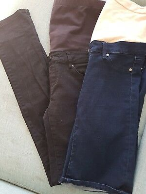 Jeanswest Maternity jeans and shorts bundle size 8