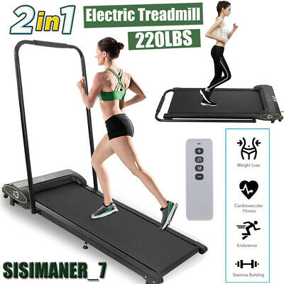 1HP Electric Treadmill Running Cardio Machine Folding Home Indoor Exercise
