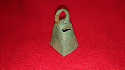 Ancient Roman or Byzantine Bronze Bell No.2