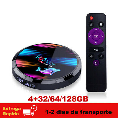 H96MAX X3 Android 9.0 TV Box Amlogic S905X3 8K 2.4G/5G Wifi BT 4.0 Media TV Caja