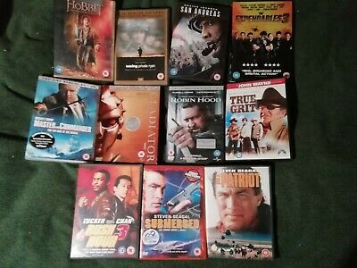 job lot of 11 dvds all region 2 and in good condition
