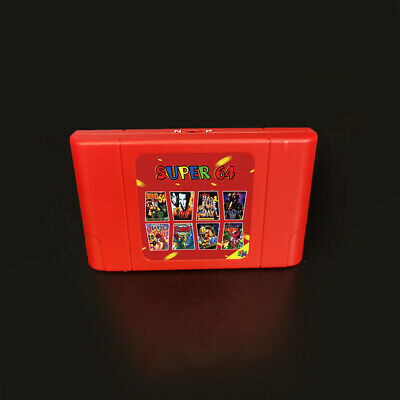 BEST 340 in 1 Cartridge for Nintendo 64 N64 Video Game Console PAL & NTSC Save